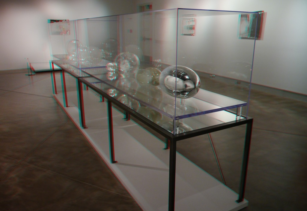 Blown Glass Art In Museum Display Case In 3d Guide To